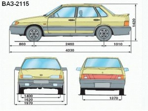 vaz-2115-size